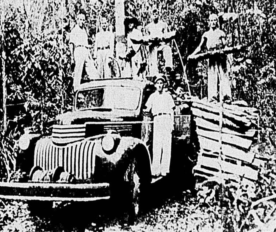 Guardas Territoriais em Guajará Mirim em 1947.