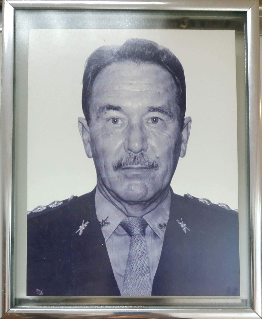 1976 – O Major Inf. Ivo Célio da Silva, do Exército Brasileiro